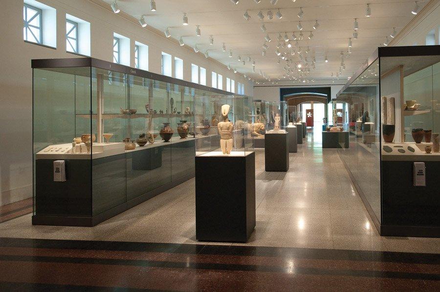 Schmidlapp Gallery pre-2011, Antiquities collection