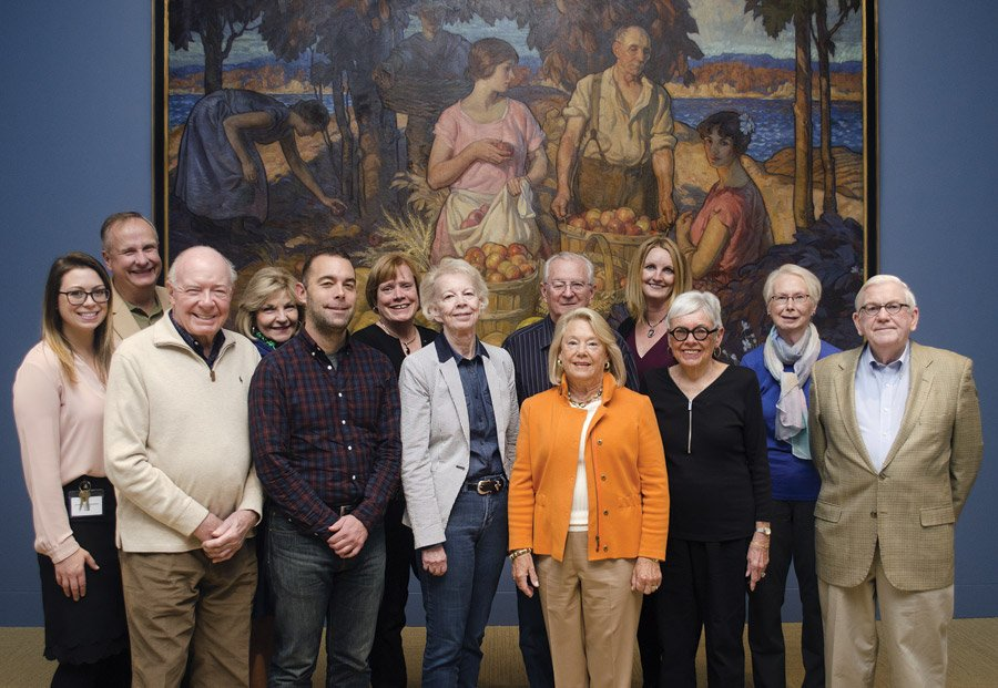 Committee members Jacqueline Reeves, Gary Eith, Roger Gellenbeck, Kay Worz, Kevin Tolan, Sheila Lundy, Elizabeth Tinklenberg, Ronald Tinklenberg, Barbara Weyand, Emily Merkle, Mary Bonansinga, Chris Adams and Jim Crowe. Not pictured: Keith Connor, Charlie Deitschel, Chuck Deitschel, Amanda Hollinger, Kaitlyn Sharo, Kasey Jo Trbovich and Don Worz.