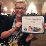 Honoree Heather Frye, Volunteer Appreciation Award