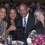 Kristin Keeffe, Kara Lazar, honoree Dr. Victor Garcia, Gail Garvin