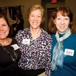 Sue Baggott, Elaine Suess and Margaret Swallow