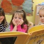 A trio of children from Brighton Center