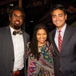 Dhani Jones, Desire Bennett and Aftab Pureval