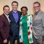 Cincy Sings judges: Drew Lachey, Bob Herzog, Kathy Wade, John Morris Russell