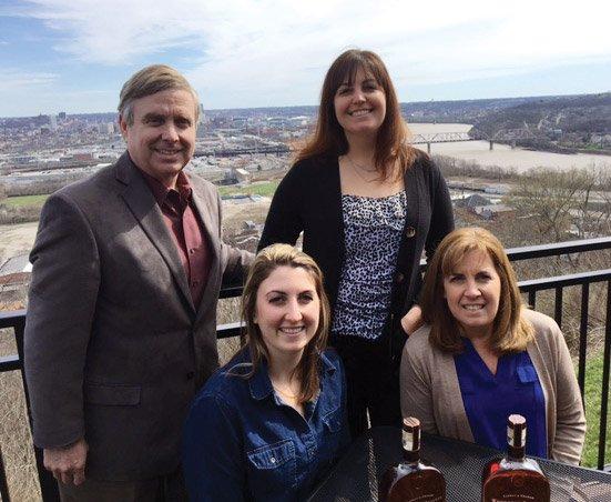 KSO music director J.R. Cassidy, Becky Rellar, Allison Rellar and Karen Rellar