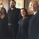 Musicians Nicolette Book, Brandon Russell, Erin Keesy and Carol Walker
