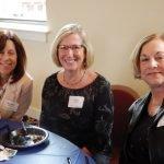 Volunteers Michele Schuster, Emily von Allmen and Pat Goellner