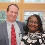 John Banchy and Dr. Karen Bankston