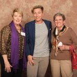 Les McNeill, founder of The Women's Fund, with Abby Wambach and Helen Magers