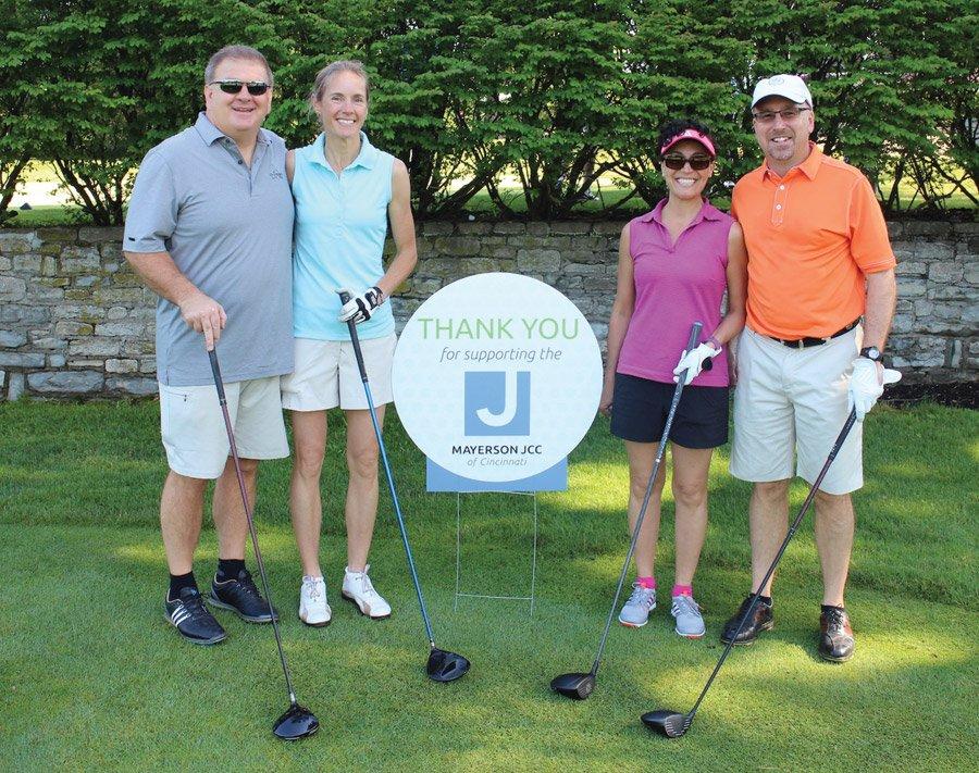 Jim Moehring, Sally Schultz, Danielle Minson and Brian Hogan
