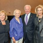 Jill McGruder of Western & Southern Financial Group; Phyllis Dix, Assistance League steering committee member; and honorees John and Eileen Barrett