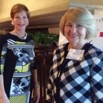 Lauren Wallace and Jill Haft, Symphony Club board members