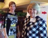 Lauren Wallace and Jill Haft, Symphony Club board members