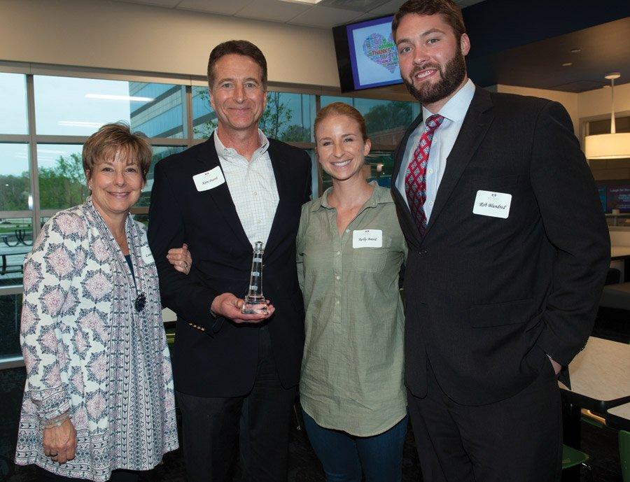 H. Kim Baird and family