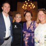 Andrew Hertel, speaker Maeve Rochford (Hertel), Marge Clarke and Meghan Clarke