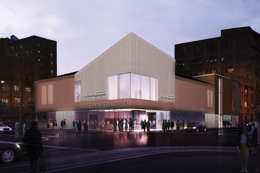 Rendering of the Otto M. Budig Theater