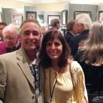 David Mueller and Marybeth Karaus, local artists exhibiting in the Oil Painters of America show