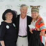 Helen Heekin, co-founder of the Women's Committee, with Brian Heekin and Susie Gaynor