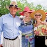 Buzz Dow, Victoria Morgan and Connie Bergstein Dow