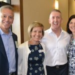 Polly and Thom Brennaman with event co-chairs Steve and Kris Mullin