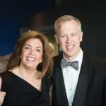 Chair Petra Vester with husband Russ