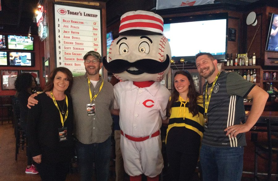 Chelsie, Big Dave, Mr. Redlegs, Madeline Fassett and Statt