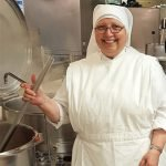 Sister Mary Imelda in the kitchen