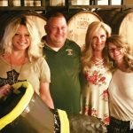 Katie Walters of Q102, Chief Paul Hehman, Deneen Wolber and Cecilia Freihofer