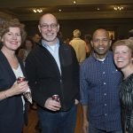 Katie and Murry Monroe with Vince and Karen Mukkada