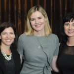 Jill McIntosh, The Kroger Co.; Geena Davis; and Amy Eskoff Garrett, Procter & Gamble