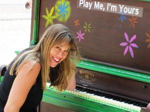 Pianist Julie Spangler
