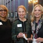 Rosalyn Fuller, Marianne Beard and steering committee member Patti Myers