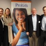 ProKids board member MacKenzie Chavez with Megan Stagnaro, Chris Stagnaro and Mike Stagnaro