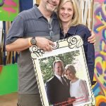 David Giles and Ellen Katz, who met at ReUse-aPalooza and celebrated their fifth wedding anniversary this year
