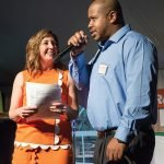 2. Easterseals CEO Pam Green with speaker Vernon Garnett