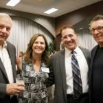 Bob Gramann, Becky Catino, Ted Catino and Jeffrey Lazarow