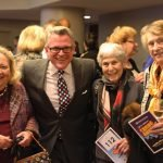 Chris Neyer, John Morris Russell, Sue Friedlander and Sudie Geier