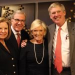 Sue Lawrence, Tom Hiltz, Francie Hiltz and Tad Lawrence