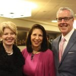 Cathy Crain, Rosemary Schlachter and Bill Kelleher