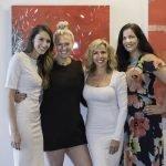 Elizabeth Davis, Chelsea Tucker Moore, Litsa Spanos and Mary Curran Hackett