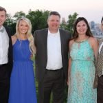 Guests of presenting sponsor BB&T: Joe Blue, Paige Blue, Joe Gosney, Meredith Calle, Esteban Calle
