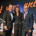 Larry and Rhonda Sheakley with honoree Bob Mecum
