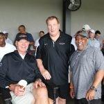 "Ken Anderson, Dave Lapham and Wayne ""Box"" Miller"