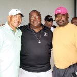 Former Bengals players Isaac Curtis, Pete Johnson and Ickey Woods