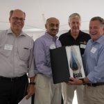 Co-chair Don Keller, U.S. Bank representative Ali Hussain, event co-chair Fred Fischer and U.S. Bank representative Steven Mullinger