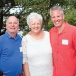 Agency executive directors Chris Adams of Stepping Stones, Charmaine Kessinger of the Autism Society and Jim Hudson of the Down Syndrome Association