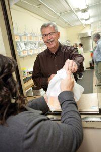 Pharmacy director Mike Espel