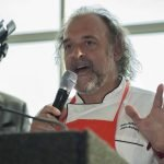 Host chef Jean-Robert de Cavel