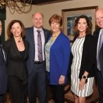 Steve Shifman, president and CEO, Michelman; Julie Shifman, executive director, Adopt-a-Class; Craig Young, founder, CEO and executive director of Inspiring Service, Purposeful Networks; Mary Beth Young; Deanna Froman; and Chris Froman, president and CEO of Pomeroy
