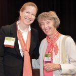 Rhonda Curtis and honoree Marianne Rowe Credit: Lisa Desatnik